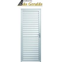 Porta Palheta Alumínio Branco 0.80 X 2.10 / Linha 25 Suprema