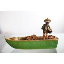 Figura De Barro Antigua, Artesanía Mexicana Antigua Calidad