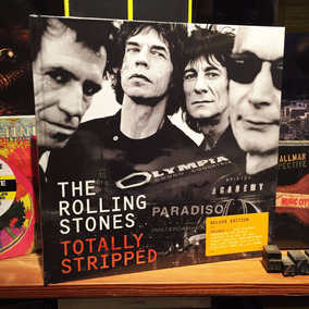 The Rolling Stones Totally Stripped Deluxe 4 Blu-ray + Cd