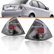 Par Lanterna Fiesta Sedan Fumê 2010 2011 2012 2013 10 11 12