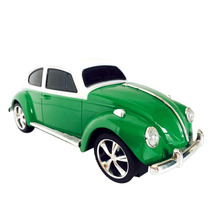 Bocina Vocho Vw Sedan Usb Fm Recargable Verde