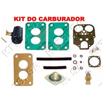 Kit Reparo Carburador Passat/gol/voyage 1.6 Alc Weber Duplo