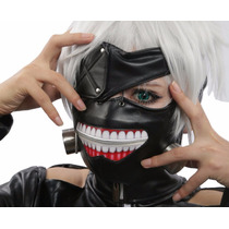 Máscara Tokyo Ghoul Kaneki Ken Cosplay Original P-entrega!