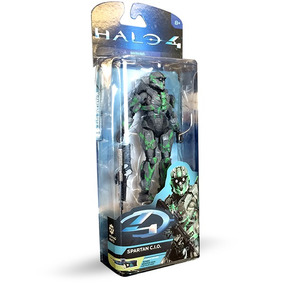 Halo 4 Spartan C.i.o Mcfarlane Fig Coleccion Articulada