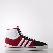 Zapatillas Adidas Neo Park St Mid Rojo/blanco/negro