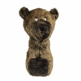 Brinquedo Mordedor Pet Shop Urso Pelúcia Cães 20cm Com Som