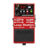 Boss Rc3 - Pedal Loop Station 3hs De Grabación