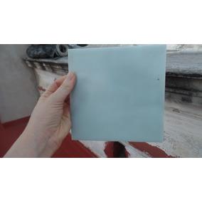 Azulejo Antiguo Vidrio Color Celeste - Turquesa
