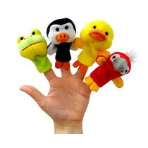 Titeres De Dedo Peluche Animalitos Suavidad Varios Modelos