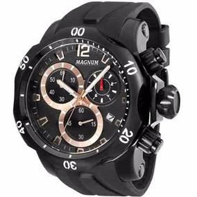 Relógio Magnum Masculino Borracha Ma33755