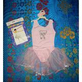 Fantasia Carnaval Bailarina Idade:6 À 8 Anos