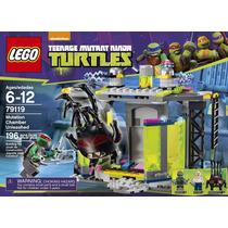 Lego Tortugas Ninjas Mutation Chamber (79119) - Nuevo