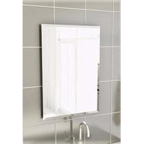 Espelho 40cm X 50cm C/ Bisotê 2,5cm Linear 4mm De Espessura