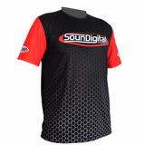 Camiseta Soundigital Oficial Modulo Camisa Sd - Black Somsc