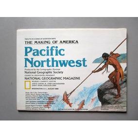Mapa Pacific Northwest - 52x68