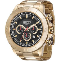 Relógio Seculus Masculino Cronograph 28798gpsvda2