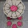 Jogo De Banheiro Em Croche, Varios Modelos E Cores A Escolha