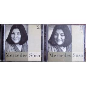 Cds Mercedes Sosa/clásica Y Moderna/ Página 12/ Los 2 Cds!