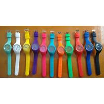 Lote 11 Relojes De Silicon Geneva