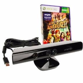 Novo Kinect Sensor Xbox 360 Sensor Kinect Original + Jogo