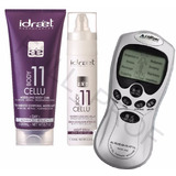 Electrodos Portatiles + Kit Reductor Anti Celulitis Idraet