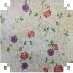 Papel Parede Contact Adesivo Pintura Floral - 45 Cm X 10 Mts