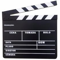 Claquete Português Para Personalizar Estúdio De Cinema Etc