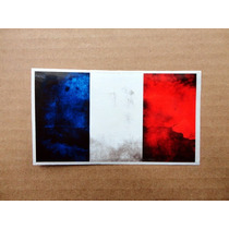 Sticker Francia / French Flag Bandera / Guitarra O Bajo