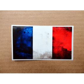 Sticker Francia / French Flag Bandera / Guitarra O Bajo