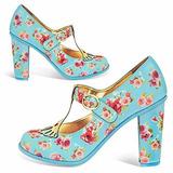 Zapatos Importados Hot Chocolate Antonieta Antiguo Lolita
