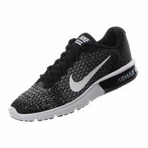 Tenis Nike Air Max Sequent 2 Dama Negro 2017
