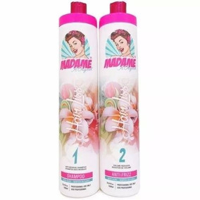 Madame Hair Liss Argan Oil Escova Progressiva + 1 Brinde