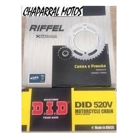 Kit Relação C\ Retentor Yamaha Xt 660 Riffel Did 520 1045