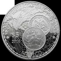 Moneda 5 Pesos Caballito Con Pedestal Y Numero De Pieza
