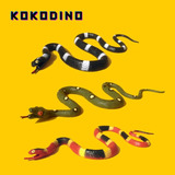 Vibora Serpiente Juguete Chasco De Goma Realista Kokodino