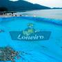 Lona Lago Tanque Criação Peixe Manta Impermeável Rede 12x8