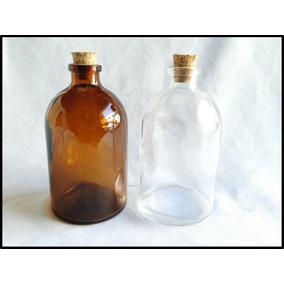 Frasco Botella Antibiótico 120 Ml Multi Usos Paq 12 Pzas Eco