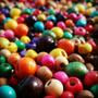 5000 Cuentas De Madera N°6 - Colores A Elección O Surtido