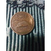 Moneda 20 Centavos De 1953