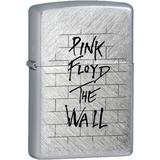 Encendedor Cromado - Pink Floyd The Wall Logo
