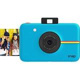 Polaroid Snap Cámara Digital Instantánea (azul) Con Zink Z