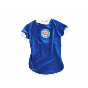 Roupa De Time Para Seu Pet - Camisa Do Bahia Tamanho 4 7418b7f60789f