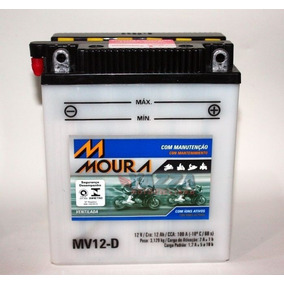 Bateria Virago 535 Bmw G 650gs F650 Moura Mv12-d / Yb12al-a