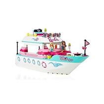 Juguete Mega Bloks Barbie Yate De Lujo