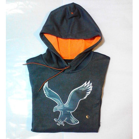 Poleron American Eagle De Hombre Talla M Gris Cod 002