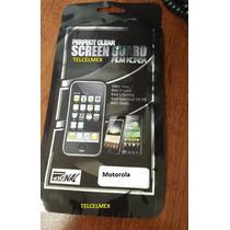 Motorola Xt303 2 Micas Transparente + 2 Paños Ofe