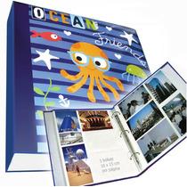 Álbum Jumbo 35x35cm-p/ 400 Fotos 10x15 Cm