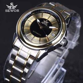 Relógio Masculino De Pulseira De Aço,a Prova D`água,original