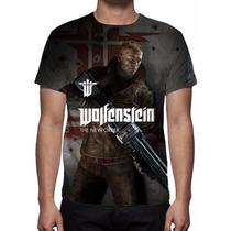 Camisa, Camiseta Game Wolfenstein The New Order