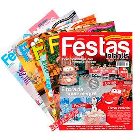 Kit Revistas Festas Infantis Decoração Lembrancinhas Idéias
